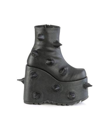 Overknee Stiefel INDULGE-3063 - PU Schwarz SALE