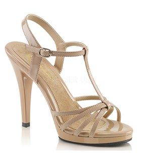 Sandalette FLAIR-420 - Lack Nude