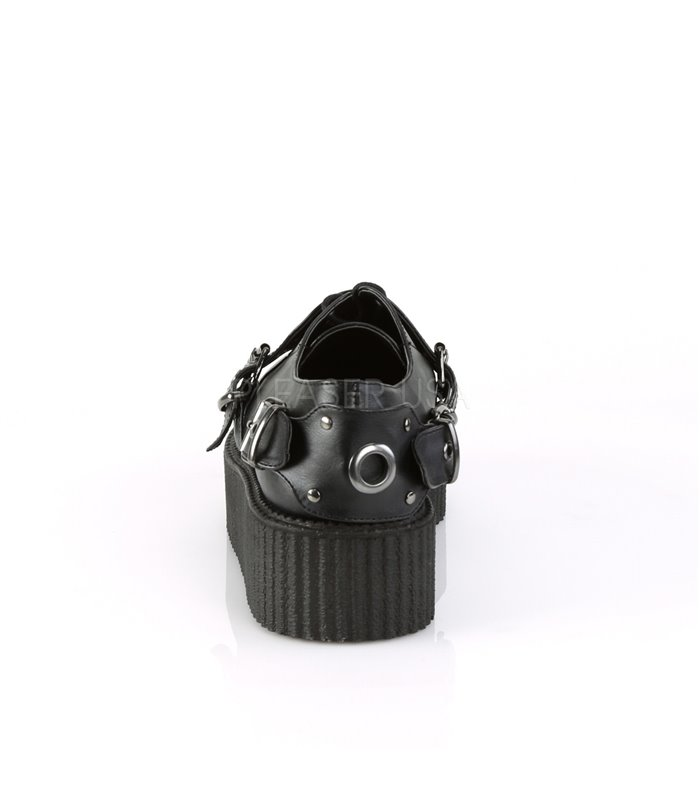 Demonia Halbschuhe V-CREEPER-508 schwarz