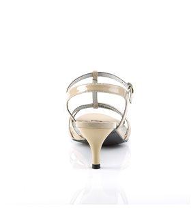 Pleaser Sandaletten KITTEN-06 Beige