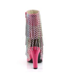 Pleaser Stiefeletten QUEEN-100 Pink
