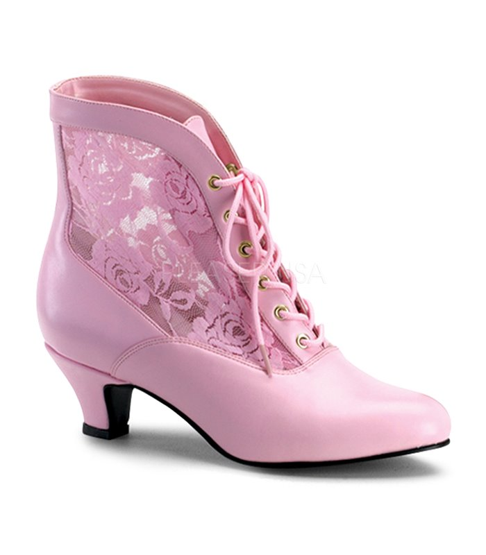 Stiefelette DAME-05 - Baby Pink