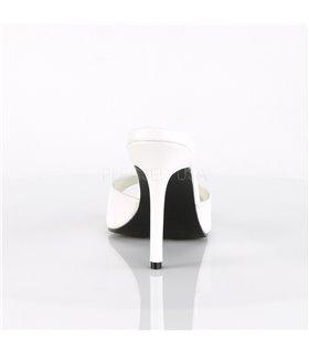 Pantolette CLASSIQUE-01 - PU Weiß