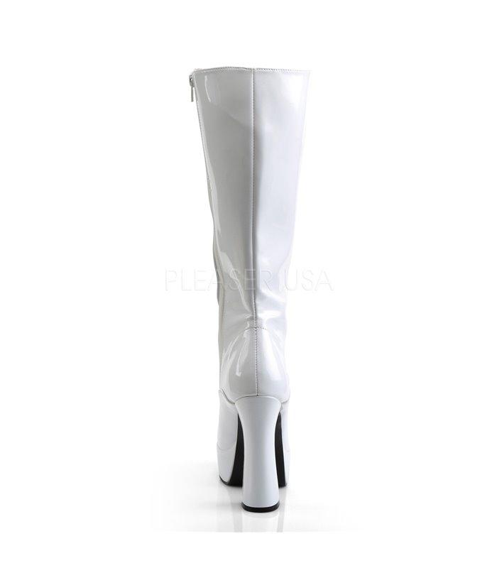 Plateau Stiefel ELECTRA-2020 - Lack  Weiß