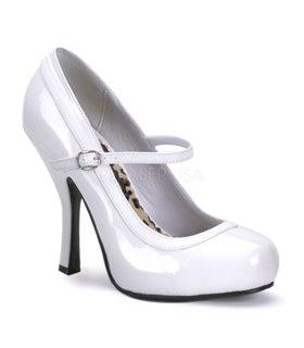 Mary Janes PRETTY-50 - Weiß