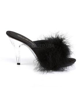 Marabu Pantolette CARESS-401F - Schwarz