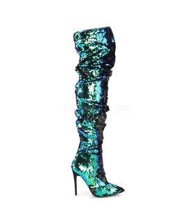 Overknee Stiefel COURTLY-3011 - Blau