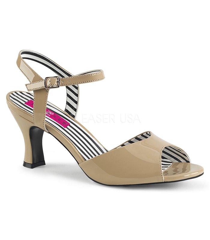 Pleaser Sandaletten JENNA-09 Beige