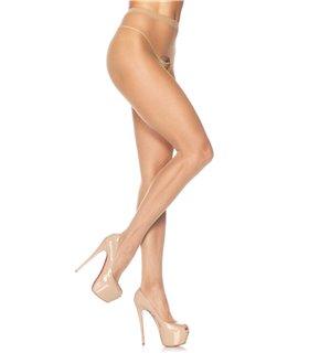 Leg Avenue Sheer Crotchless Pantyhose sexy Strümpfe