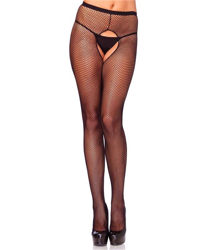 bd140b358dc97 Leg Avenue Plus Size Crotchless Pantyhose sexy Strümpfe original kaufen