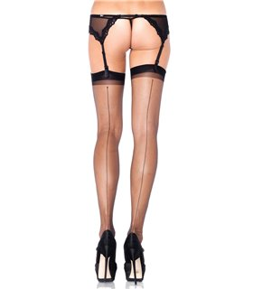 Leg Avenue Ultra Sheer Backseam Stockings sexy Strümpfe