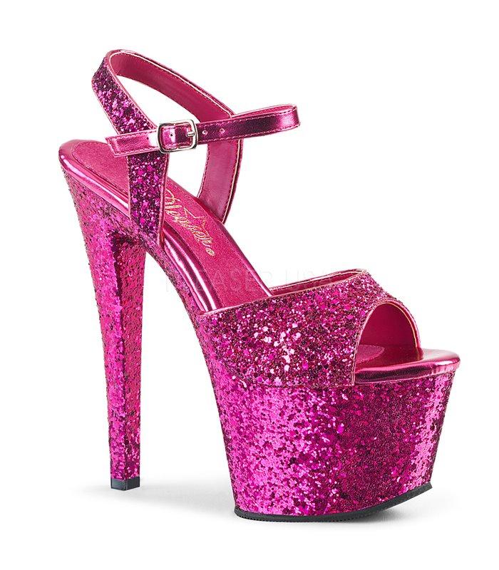 Plateau High Heels SKY-310LG - Hot Pink