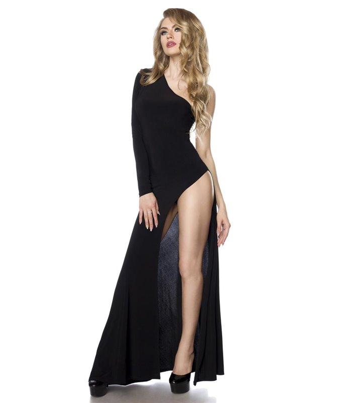 Saresia Gogo Kleid Schwarz Lange Kleider Online Gunstig Kaufen