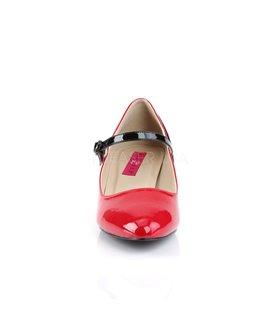 Kitten Heels FAB-425 - Lack Rot