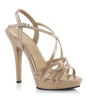 Plateau Sandaletten DELIGHT-635 Transparent