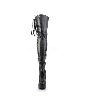 Overknee Stiefel ELECTRA-3050 - PU Schwarz