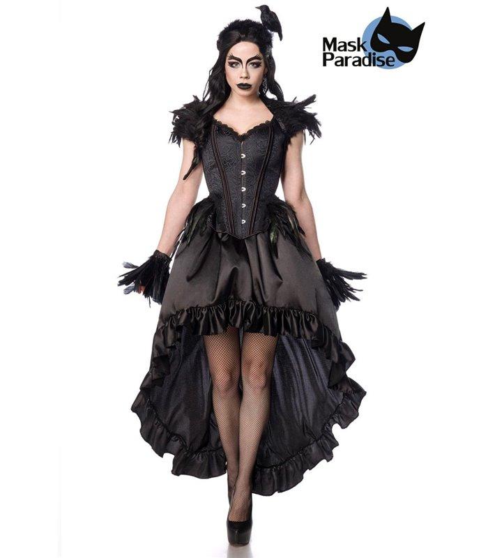 Gothic Crow Lady