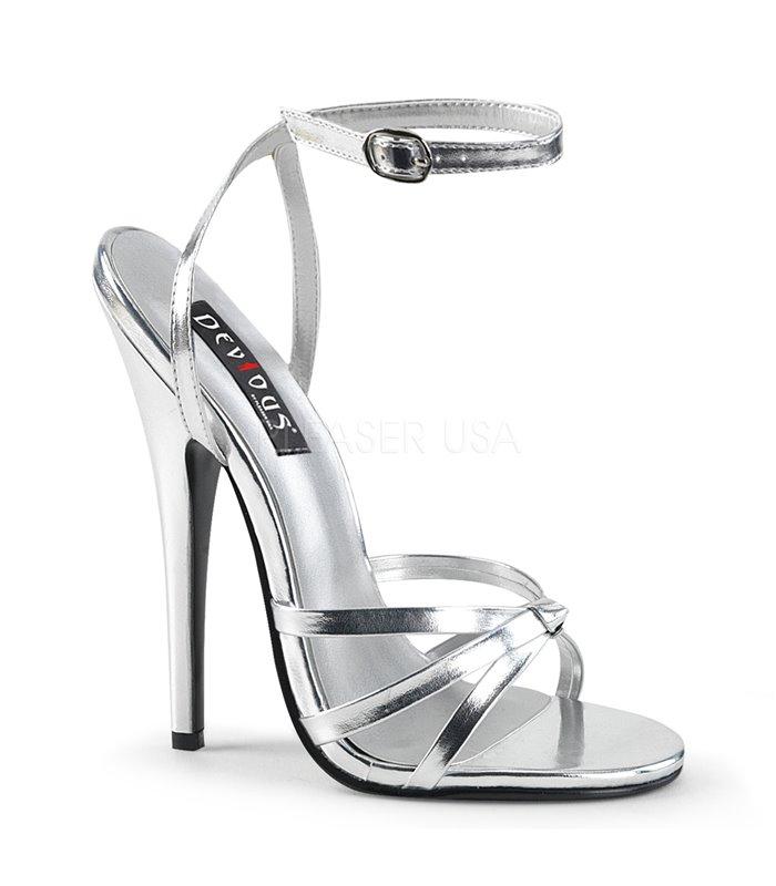 108 Online Domina Günstig Sandaletten Silber Kaufen Devious my0wNOv8n