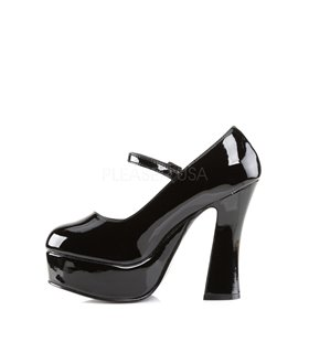 Plateau Pumps DOLLY-50 - Lack Schwarz