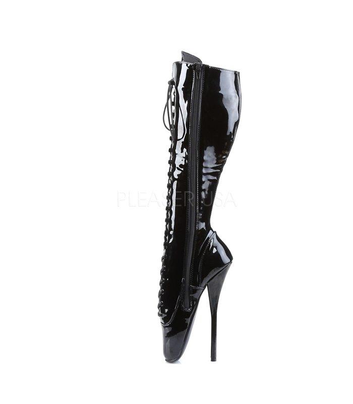 b1fbb205d9366 Fetisch Stiefel BALLET-2020 - Lack Schwarz