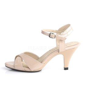 Sandalette BELLE-315 - Lack Nude