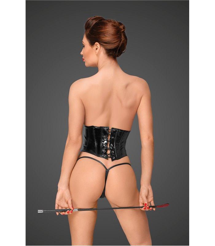 PVC Korsett mit verstellbarer Schnürung auf der Rückseite
