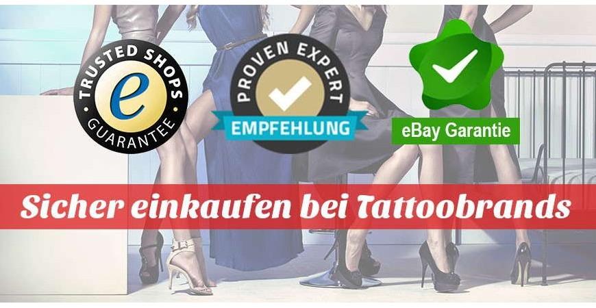 Garantie bei Tattoobrands
