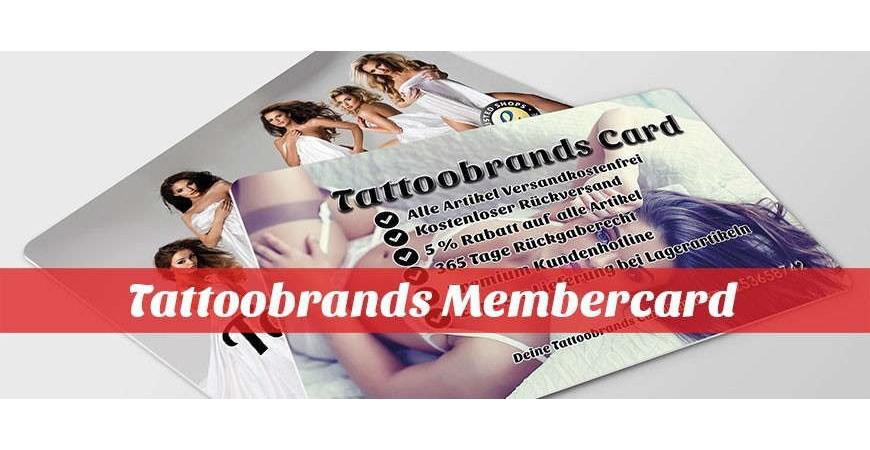 Die Tattoobrands Membercard