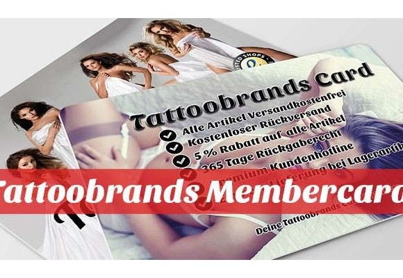 Die Tattoobrands Membercard