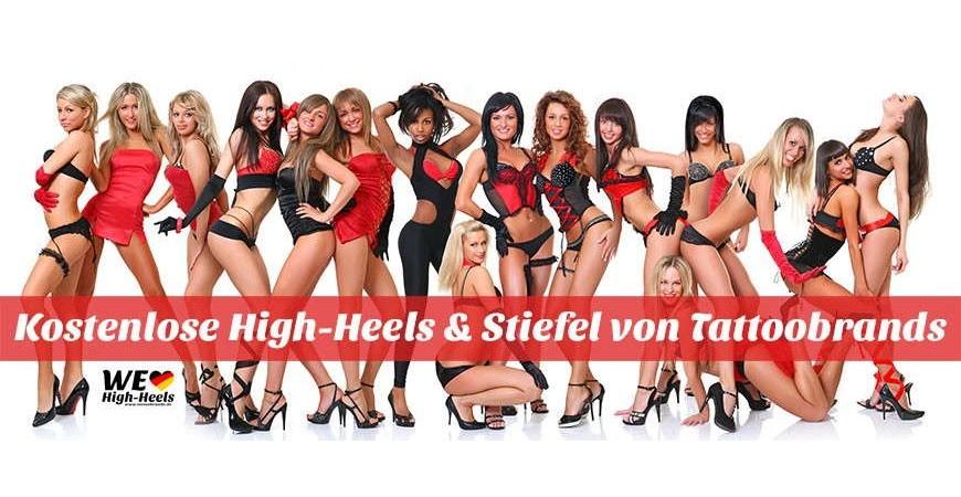 Kostenlose High-Heels und Stiefel von Tattoobrands