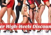 Der High-Heels Discount mit über 5000 Schuhen Stiefeln und Pumps
