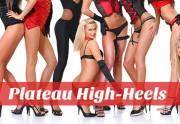Plateau High-Heels